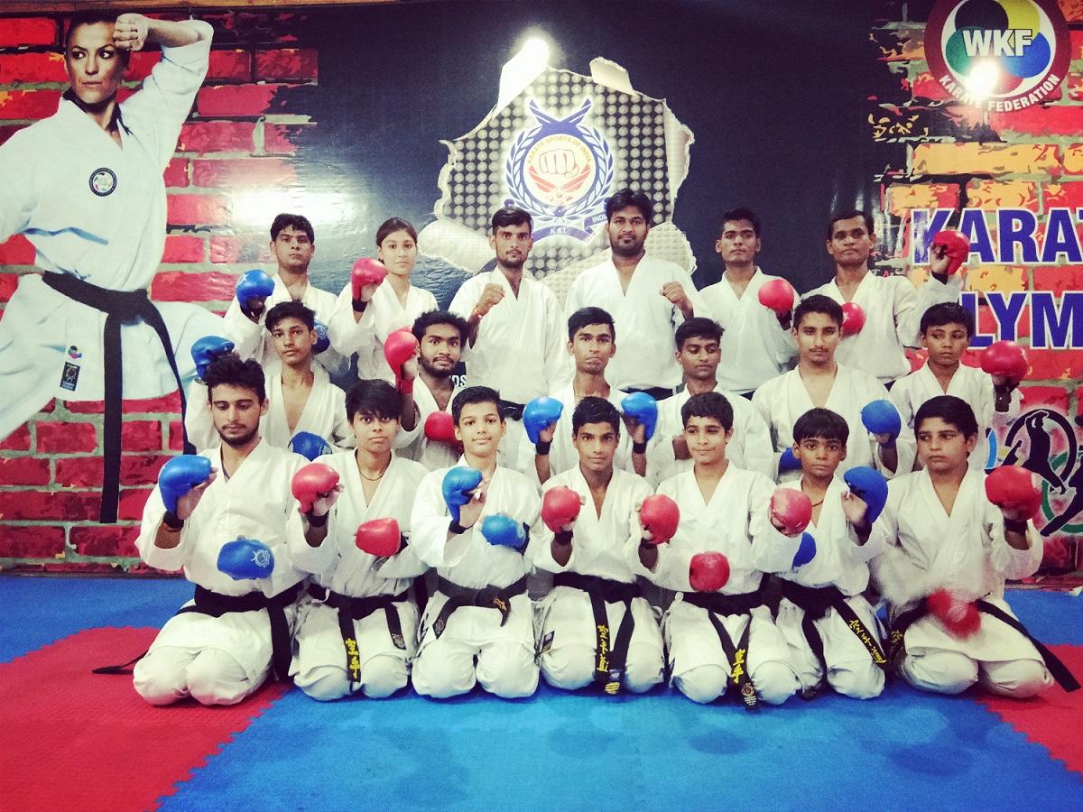 R2F Karate class in gurgaon